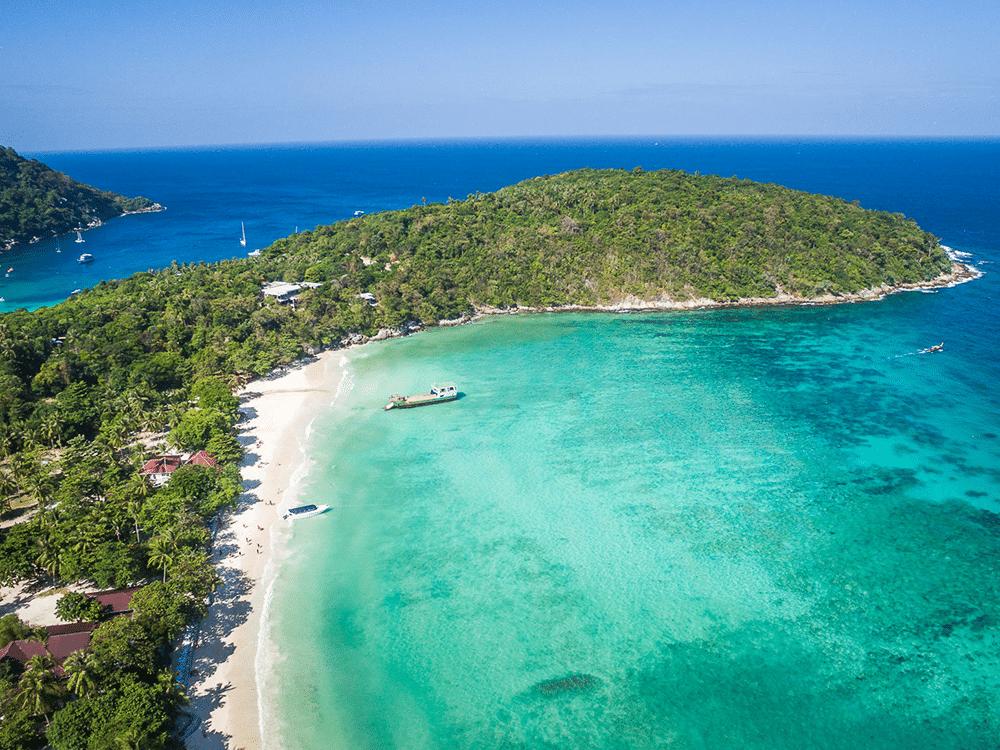 ラチャヤイ島 地図