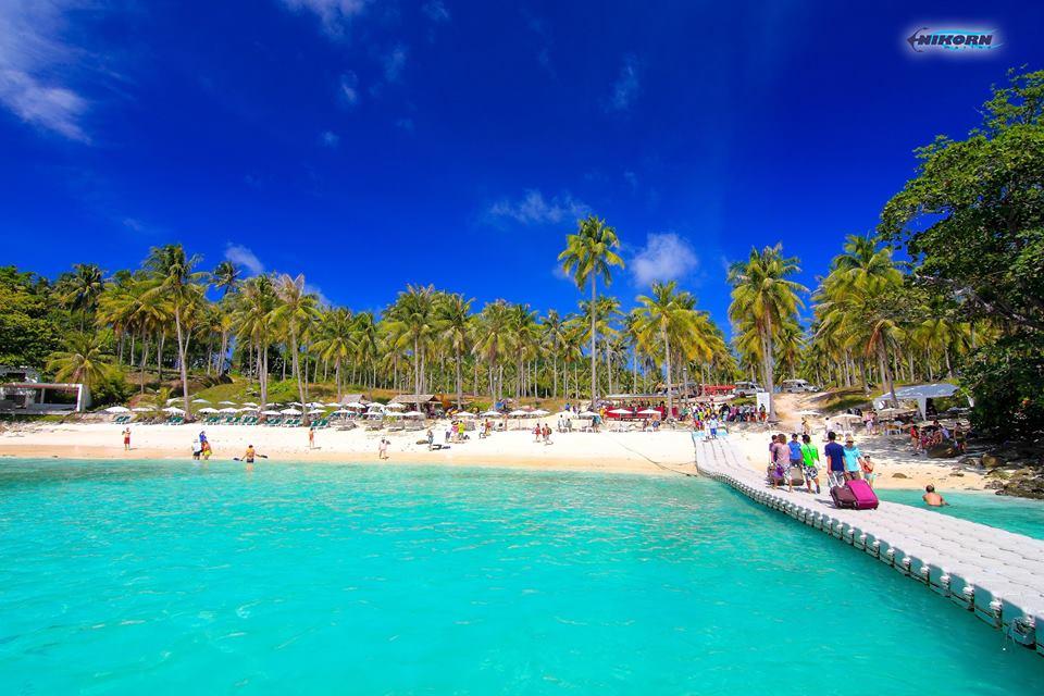 ラチャ島(ラヤ島) タービーチ