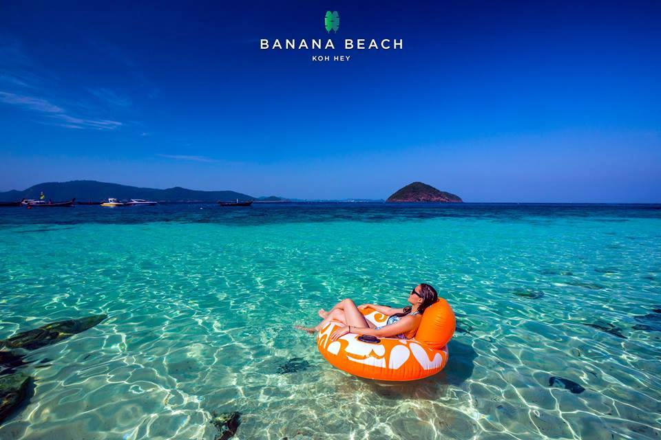 コーラル島 バナナビーチ