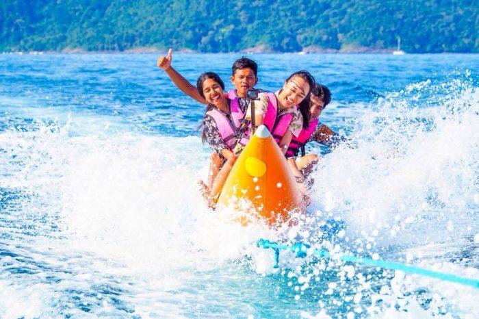 コーラル島+バナナボート
