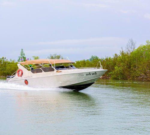 チャータースピードボート パンガー湾巡り