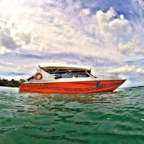 チャータースピードボート クラビアイランドホッピング