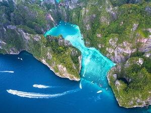 ピピ島+バンブー島(英語ガイド)