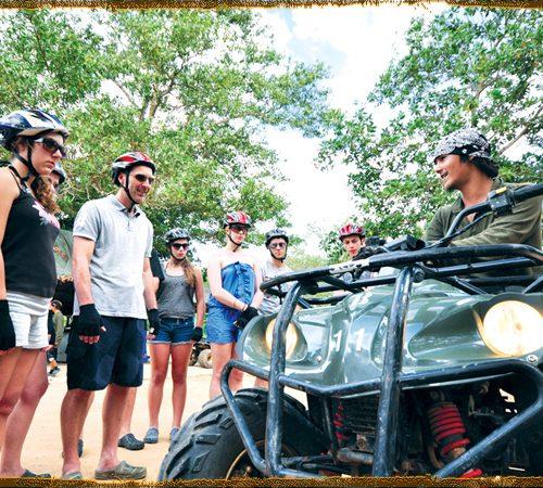 プーケット ATV バギー1時間(タラン地区)