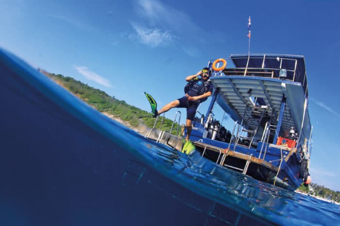 ラチャヤイ島半日(体験ダイビング)