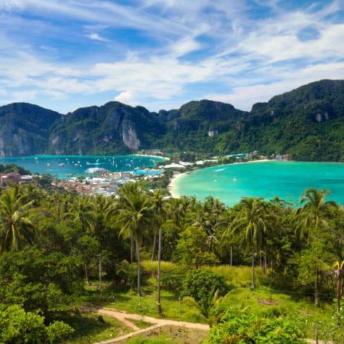 ピピ島&ビューポイント+カイ島+マイトン島+日本語ガイド