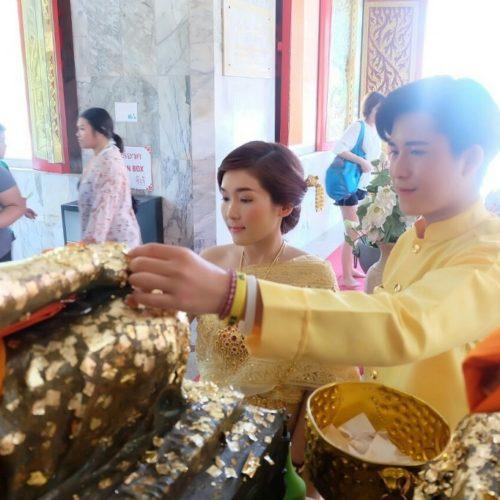 タイ伝統衣装+スパ製品作り体験(お食事付き)