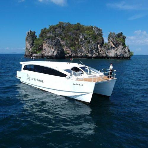 ピピ島+バンブー島(カタマランスピードボート利用)