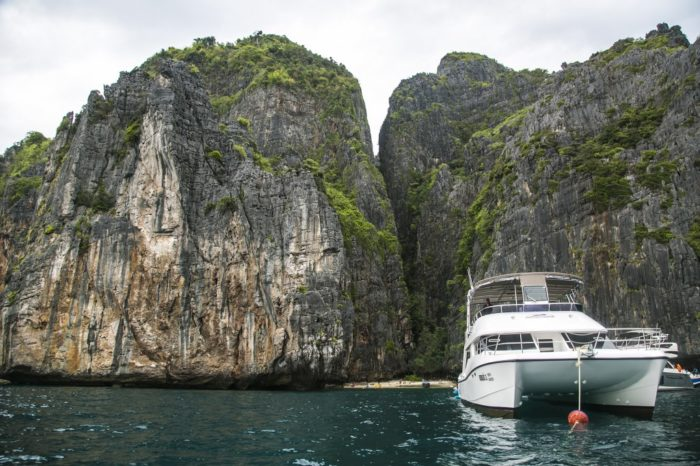 ピピ島+マイトン島サンセットツアー(カタマランスピードボート利用)
