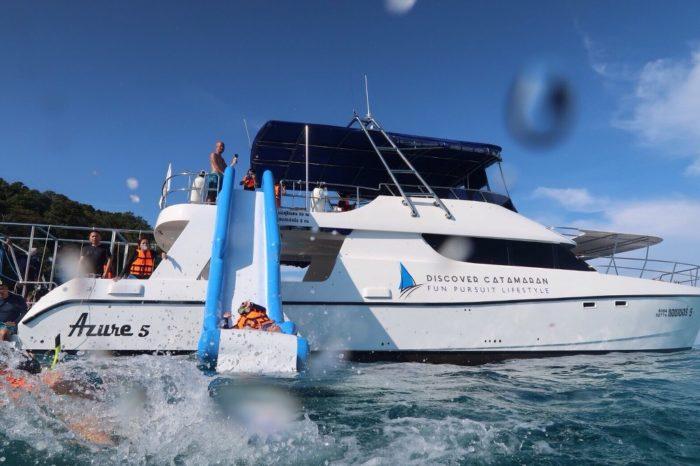 マイトン島+ラチャ島サンセットツアー(カタマランスピードボート利用)