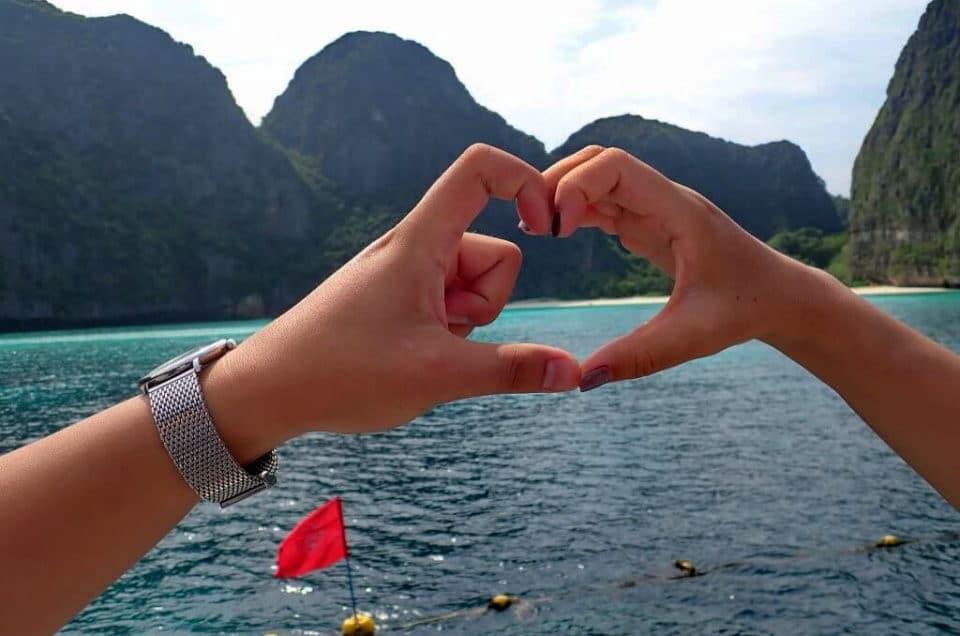 ピピ島&バンブー島&マイトン島(カタマランスピードボート利用)