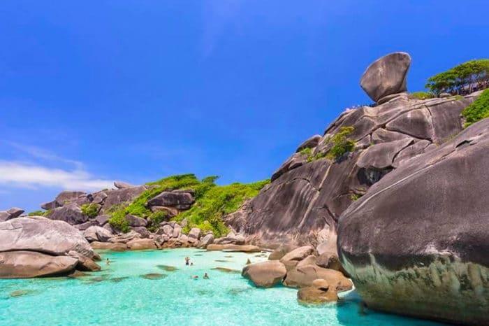 シミラン諸島ツアー(スピードボート利用)