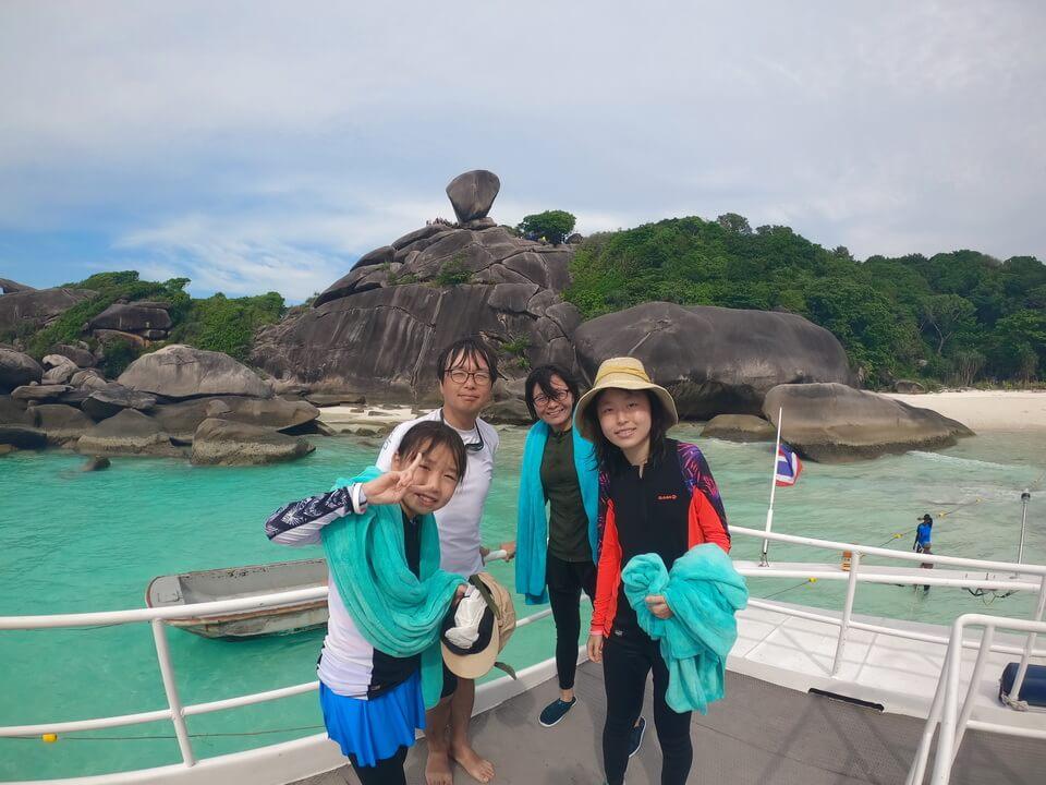 シミラン諸島観光