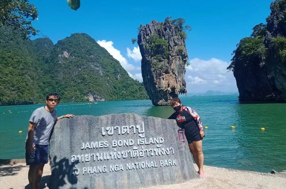 プーケット パンガー湾ツアー ジェームズボンド島