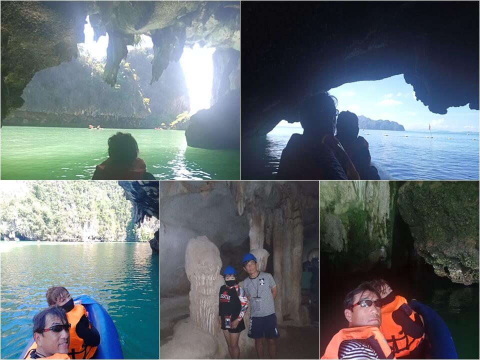 パンガー湾シーカヌー体験